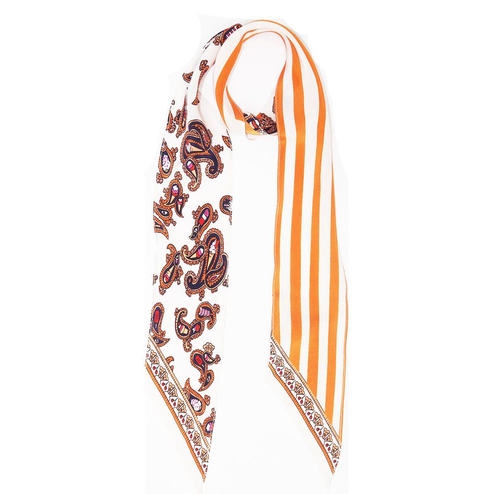 Super Skinny Scarf - Ice Cream Ivory