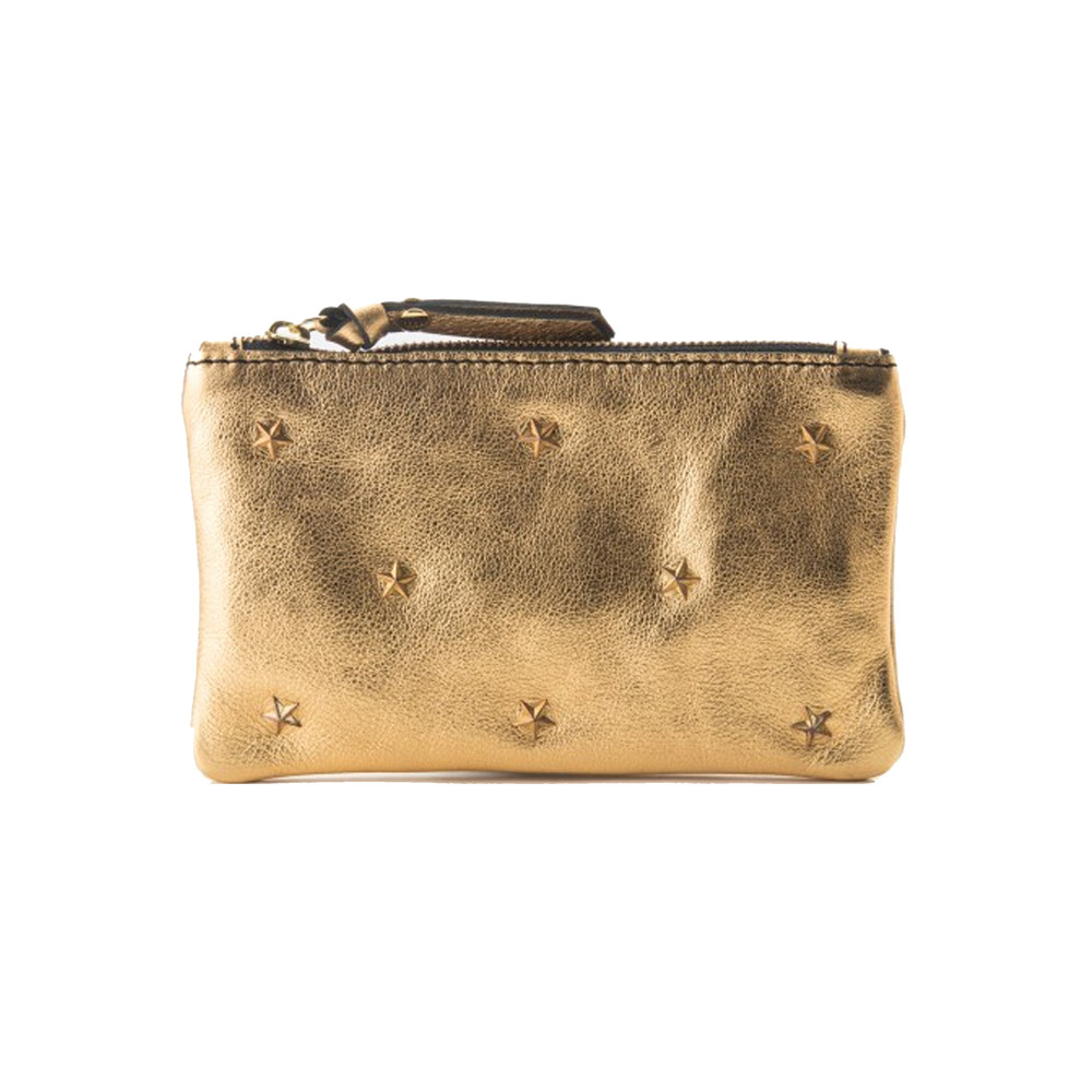 Star Pouch Wallet - Gold