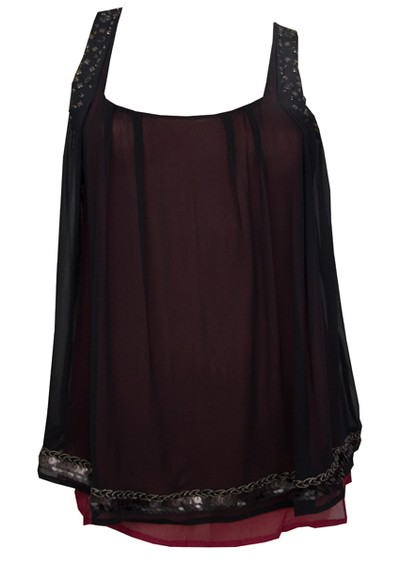 Saivanna Bella Blouse - Black main image