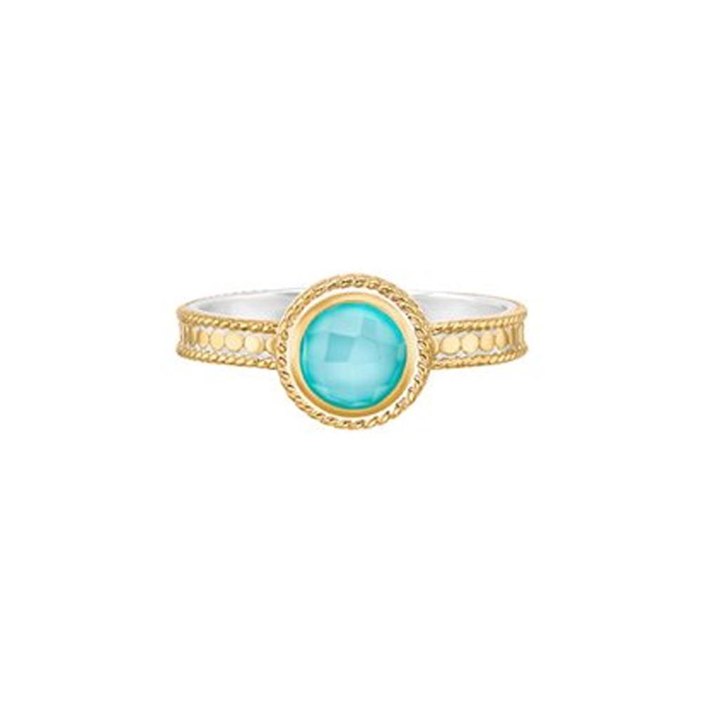 Abundance Single Stone Ring - Gold