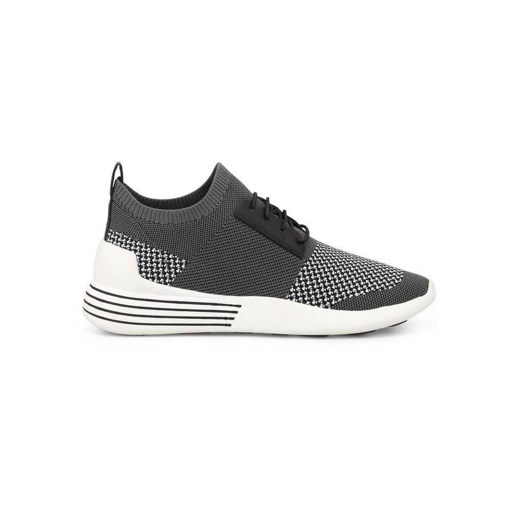 Brandy Trainers - Black, White & Grey