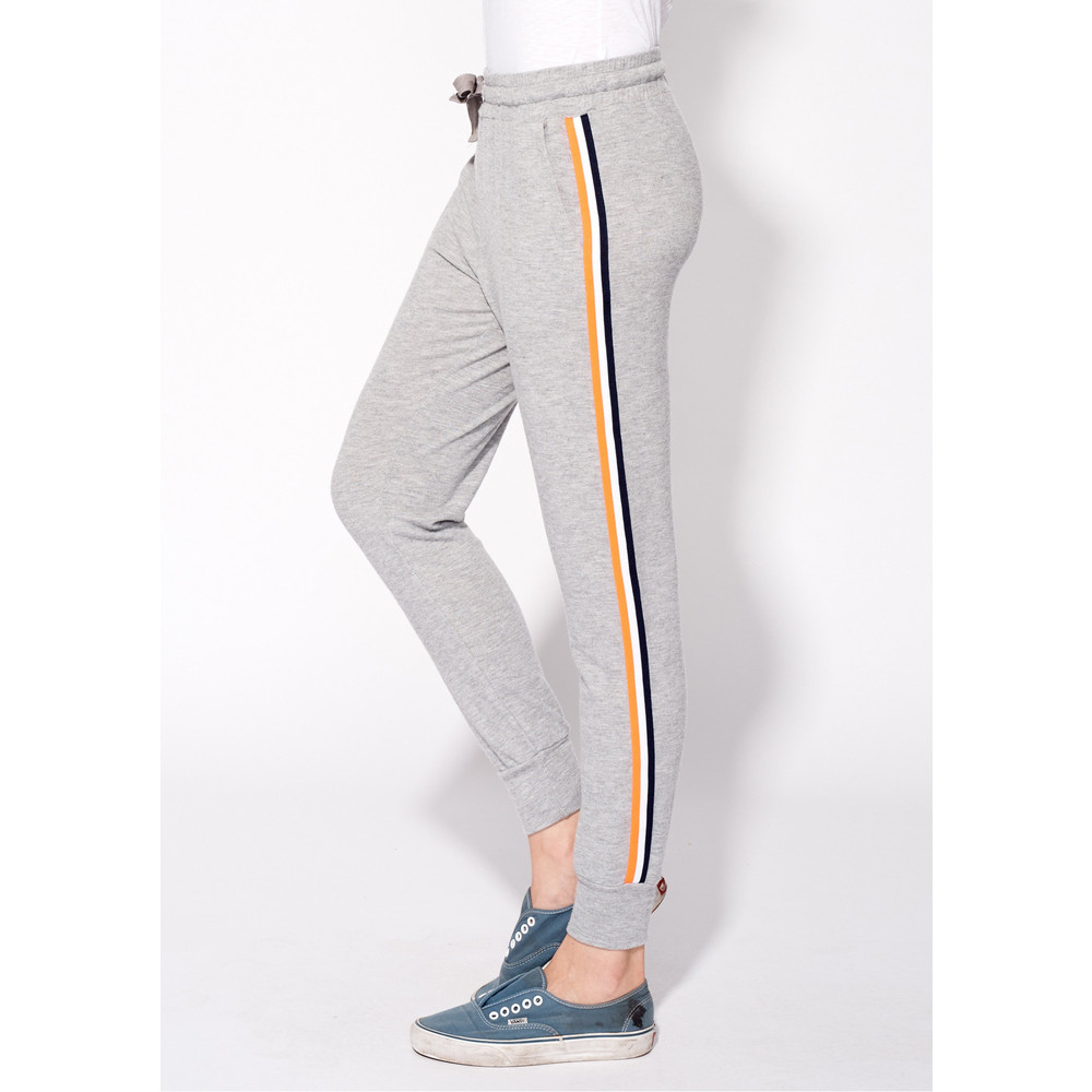 Side Tape Jogger Pants - Heather Grey