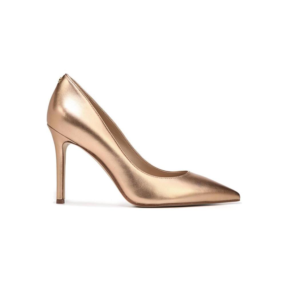 Hazel Leather Heel - Golden Cooper