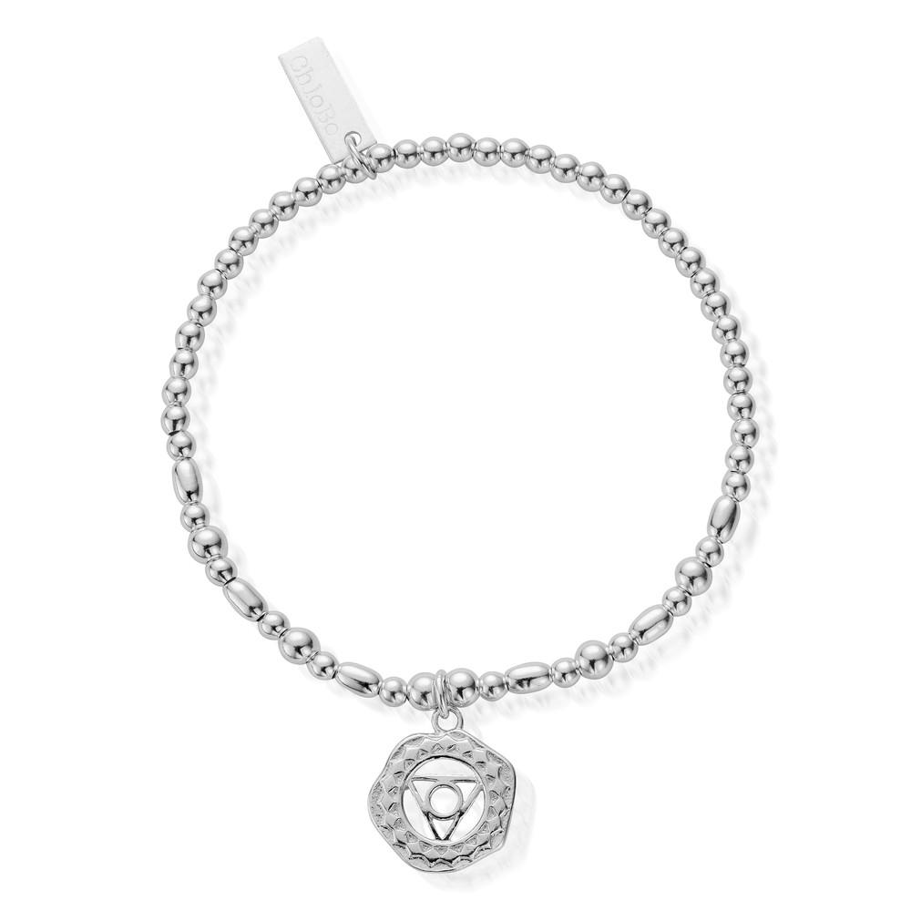 Cherabella Throat Chakra Bracelet - Silver