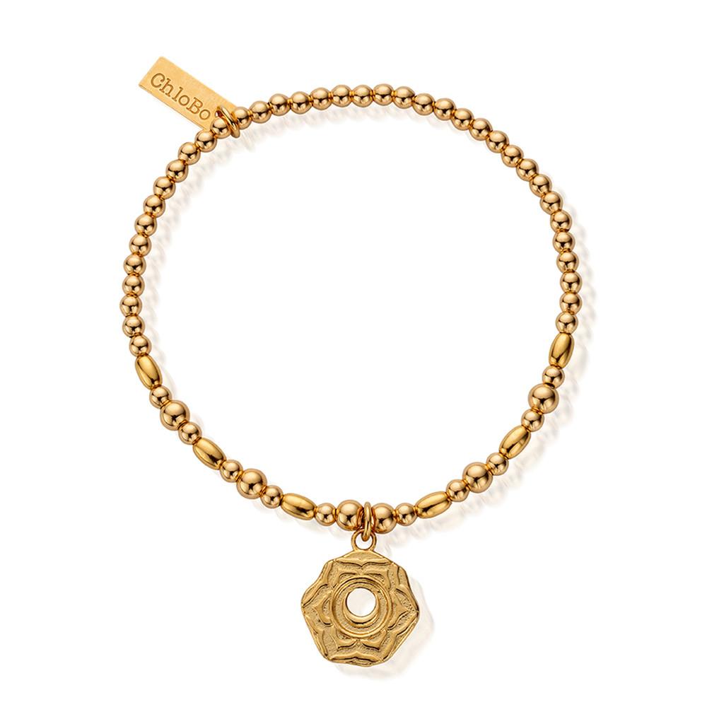 Cherabella Sacral Chakra Bracelet - Gold