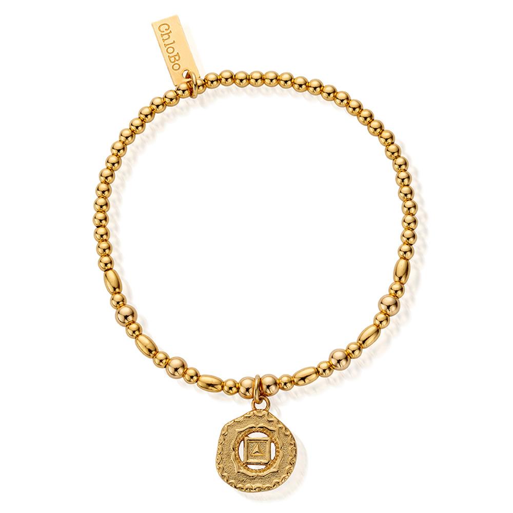 Cherabella Root Chakra Bracelet - Gold