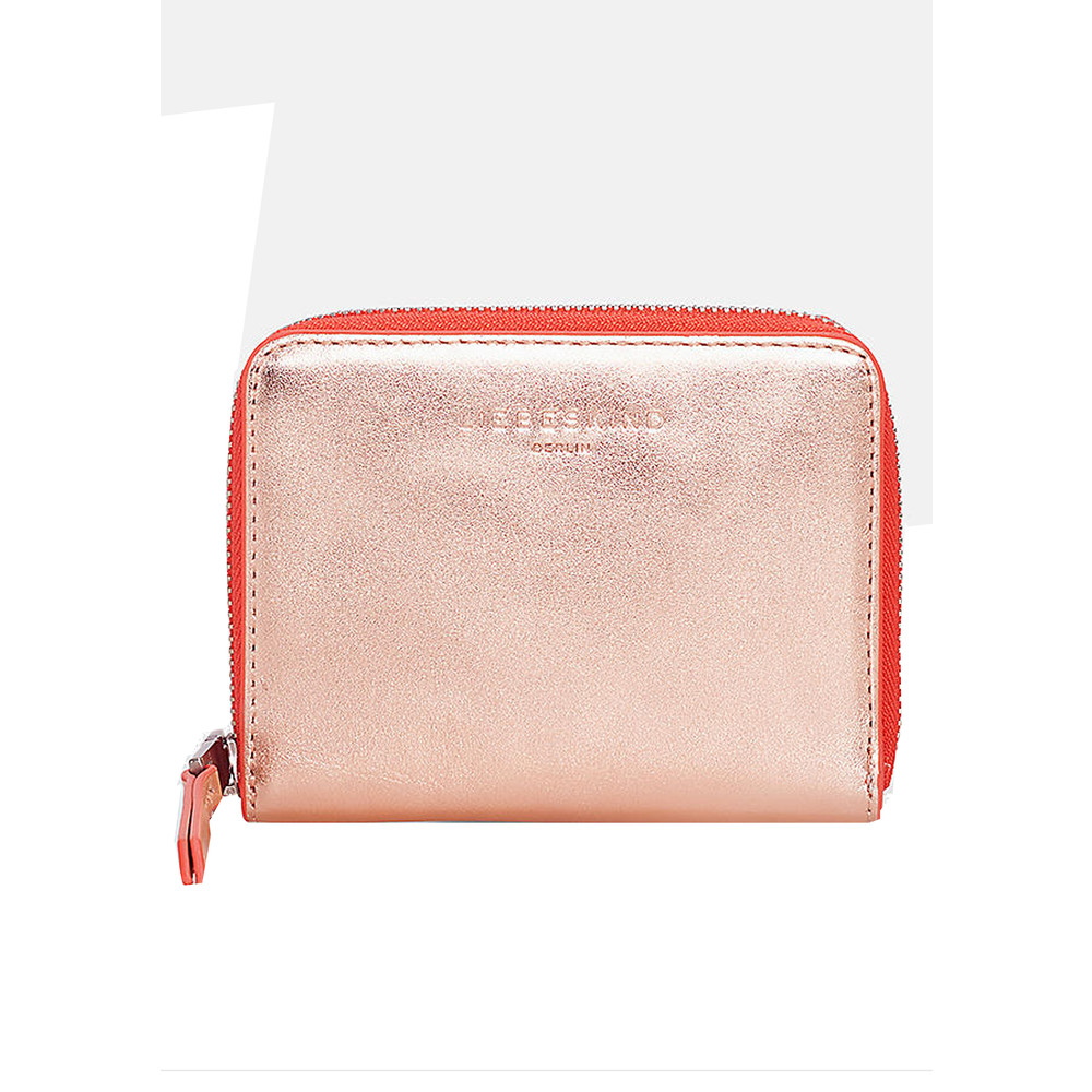 Conny F8 Purse - Rose Gold & Hibiscus