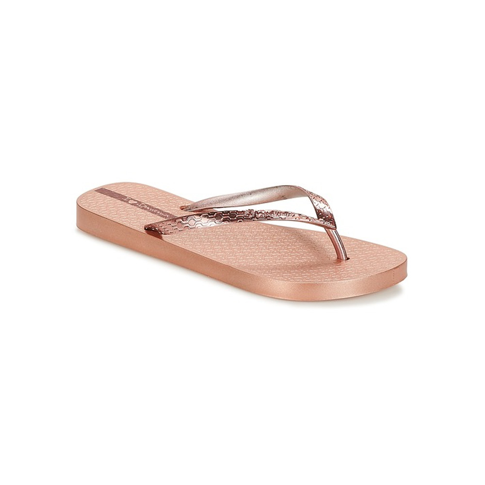 Glam Flip Flops - Rose Gold