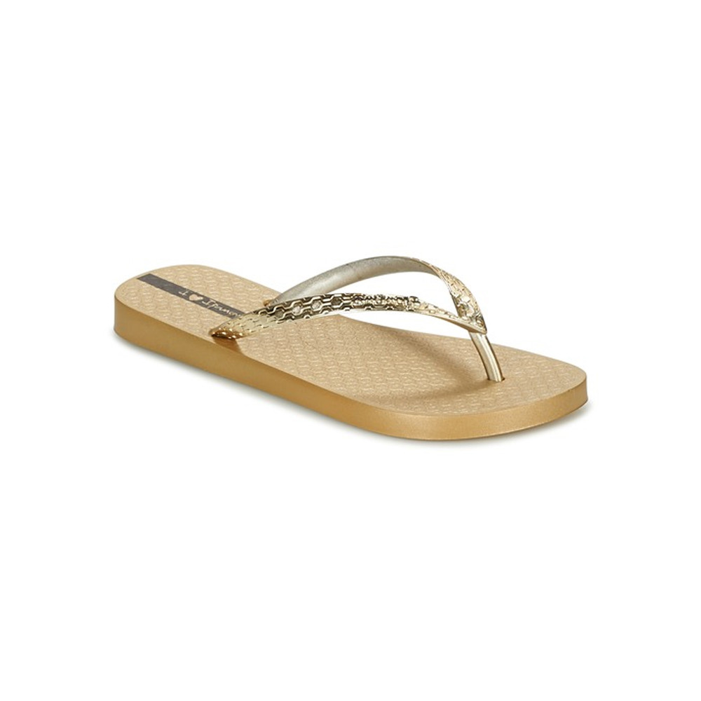 Glam Flip Flops - Gold