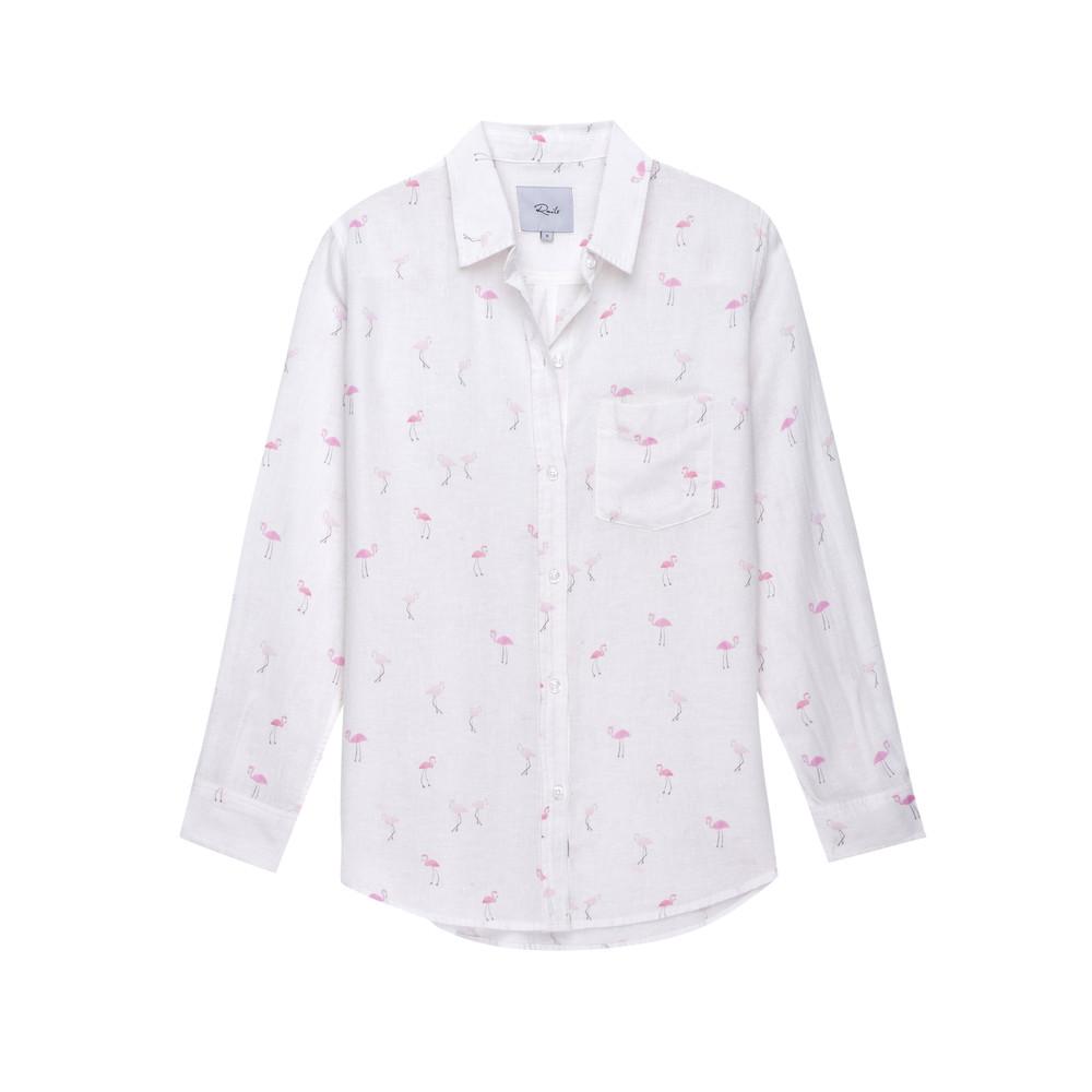 Charli Shirt - Flamingos