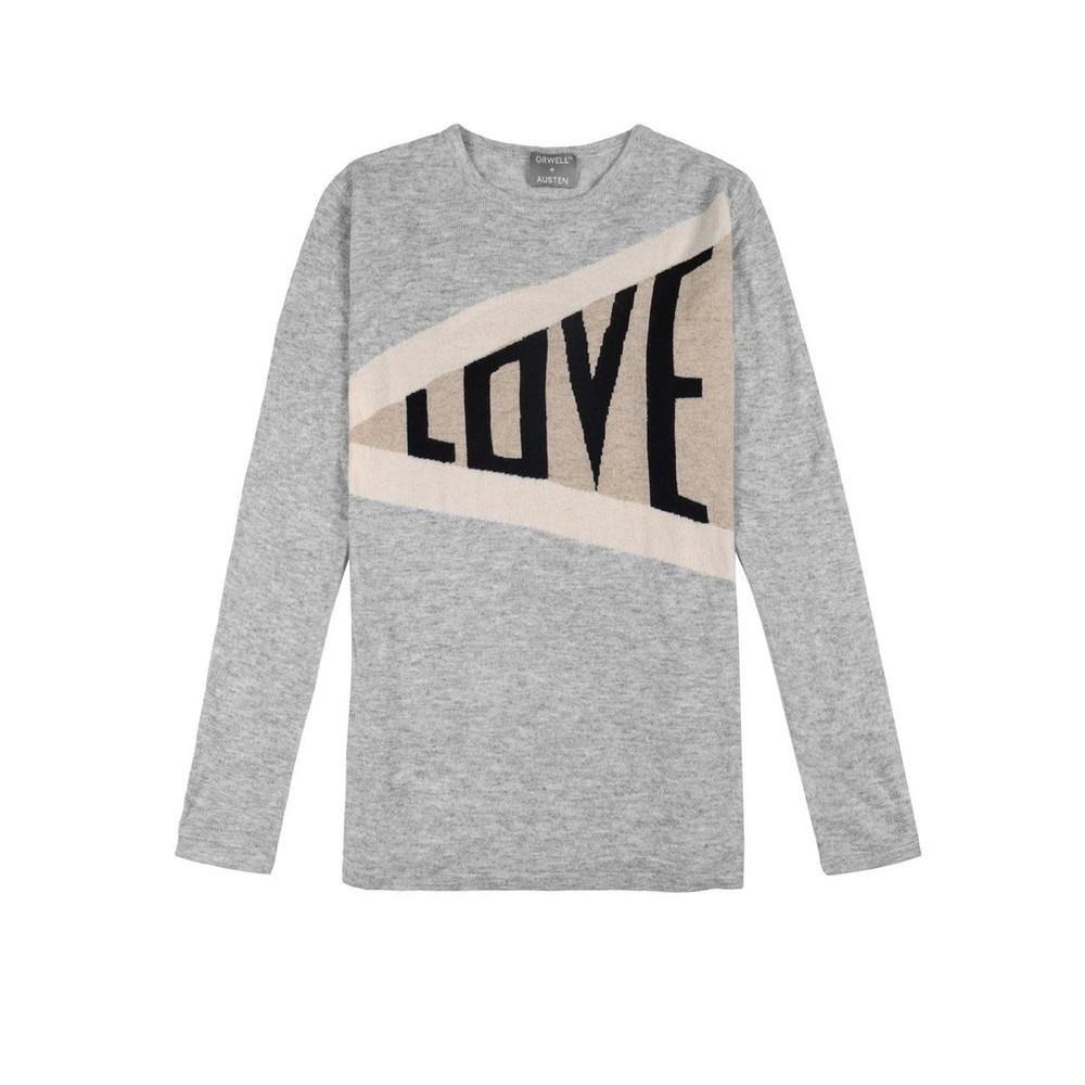 Love Cashmere Sweater - Grey