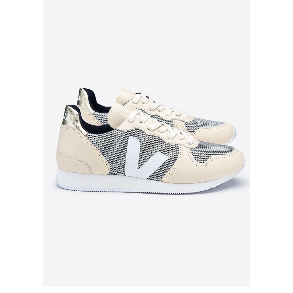 Holiday B-Mesh Trainers - Gold