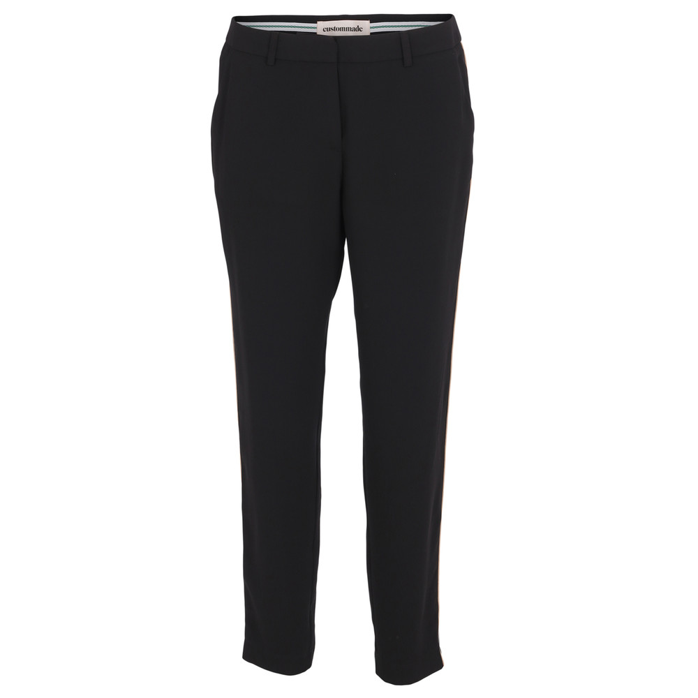 Muno Pipped Trousers - Anthracite Black