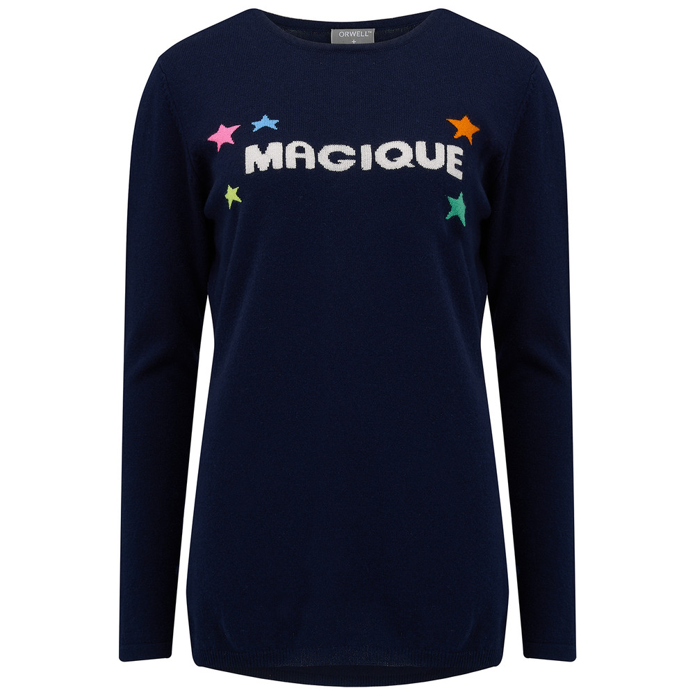 Magique Sweater - Navy