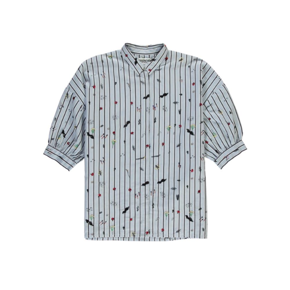 Rash Embroidered Shirt - Stratos