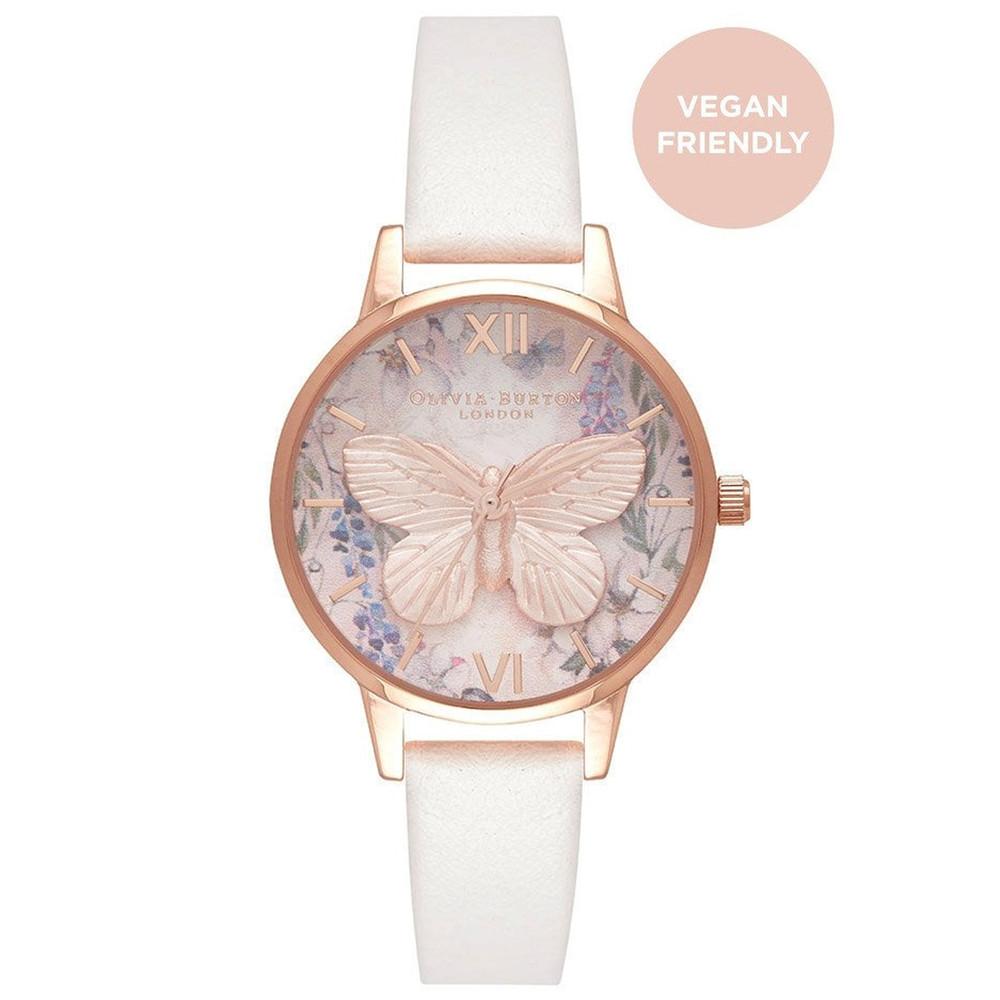 Glasshouse Vegan Friendly Midi Dial Watch - Blush & Rose Gold