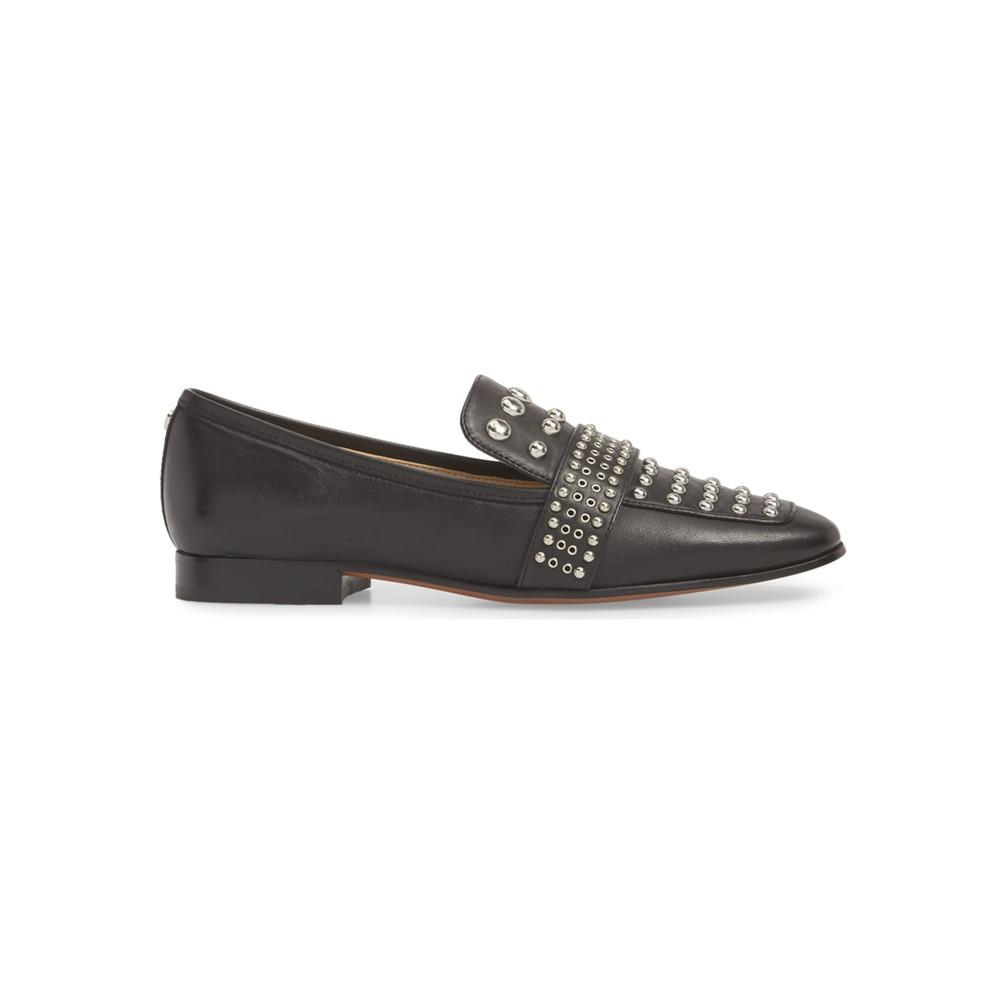 Chesney Studded Loafer - Black