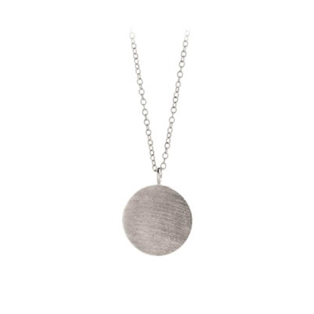 Coin Necklace - Silver