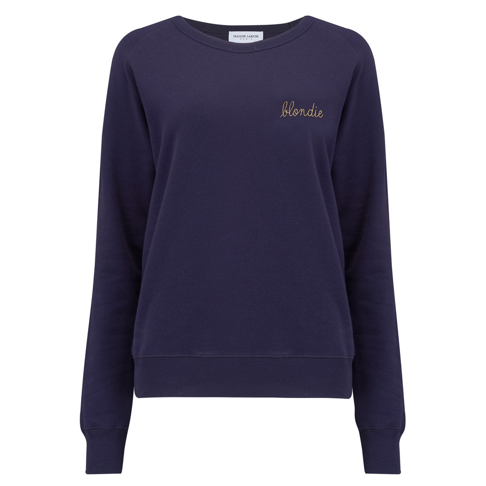 Blondie Sweater - Deep Blue