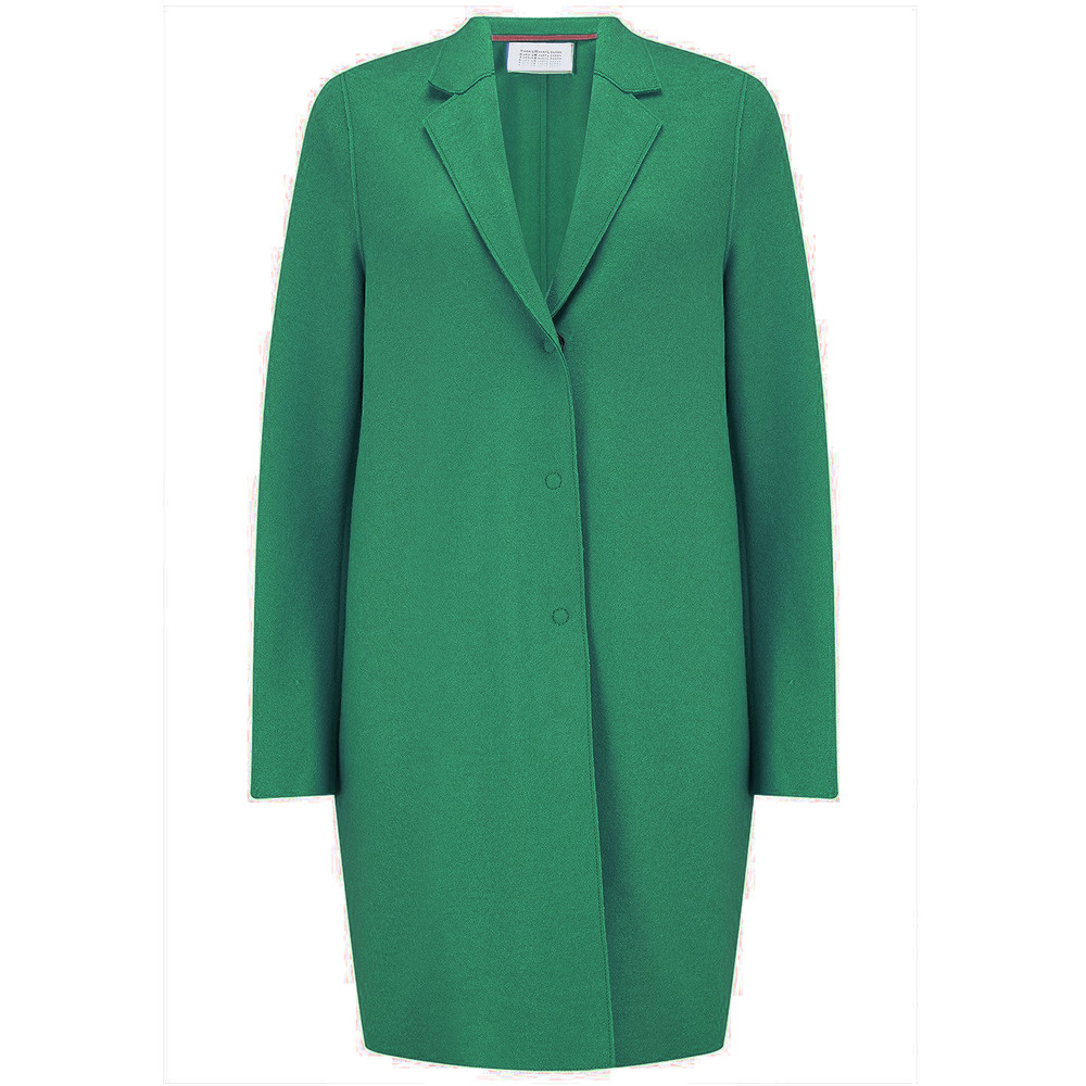 Cocoon Wool Coat - Evergreen