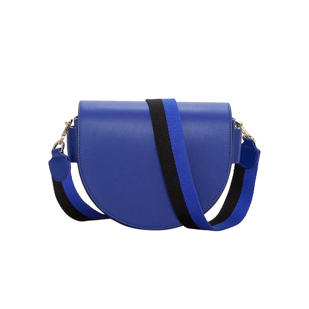 Mixed Saddle Bag - Deep Blue