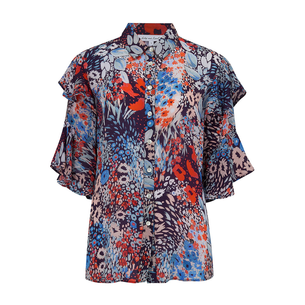 Exclusive Frankie Shirt - Dusky Floral