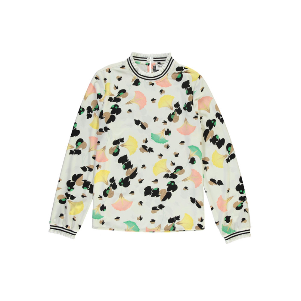 Rory Printed Top - Off White