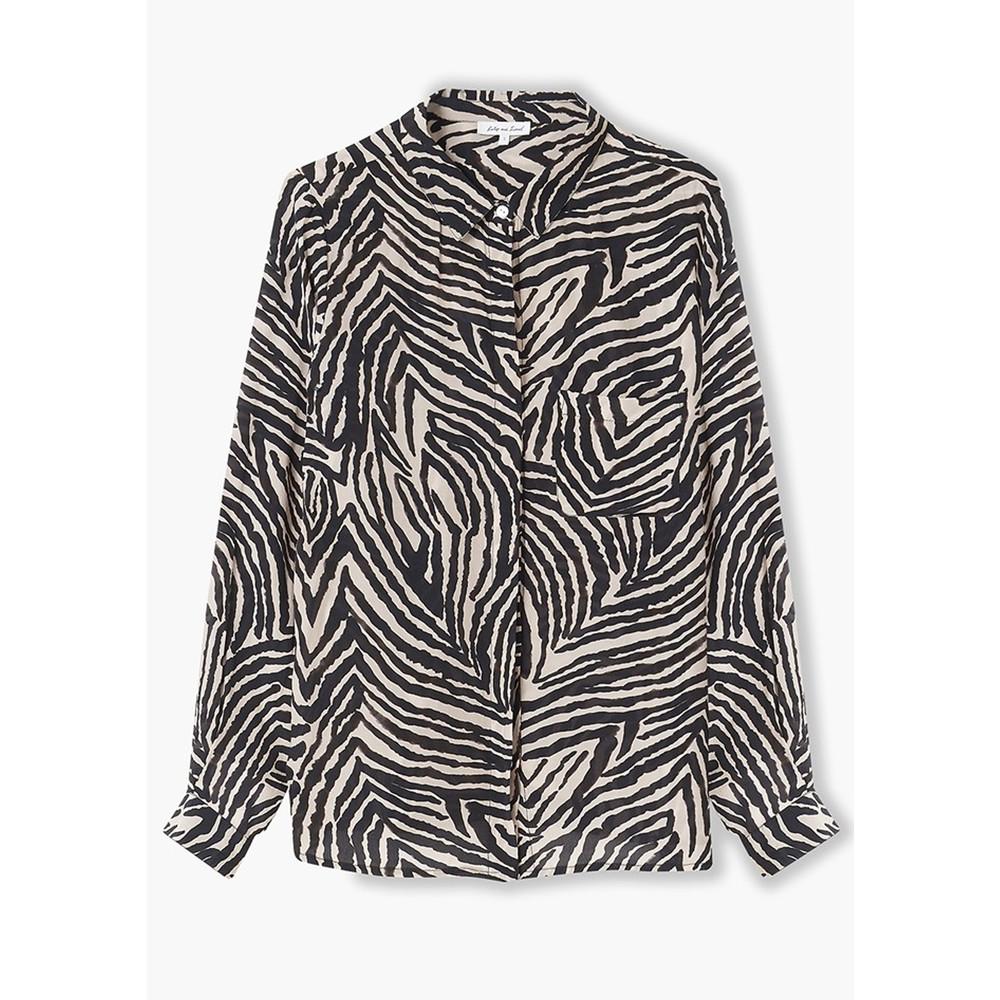 Daria Shirt - Zebra Putty