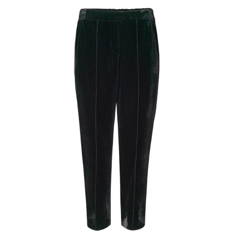 Day Tactile Velvet Trousers - Black