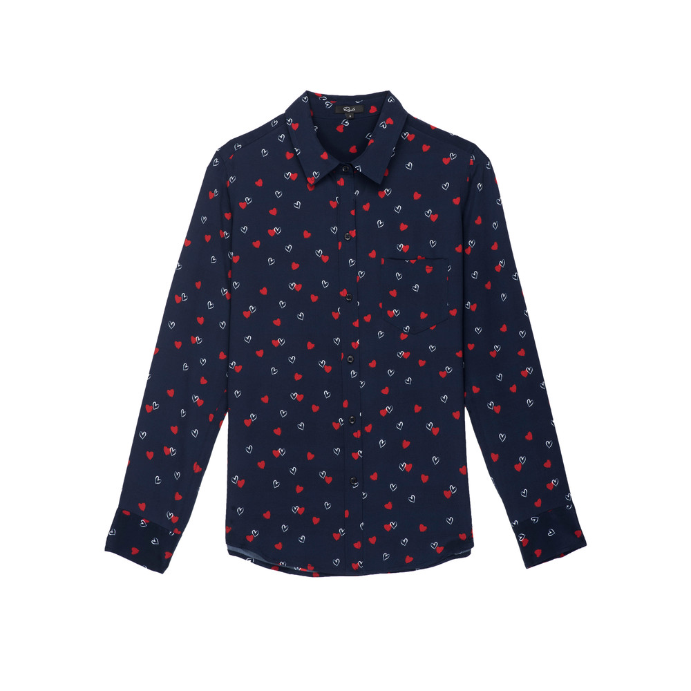 Kate Silk Shirt - Lamour