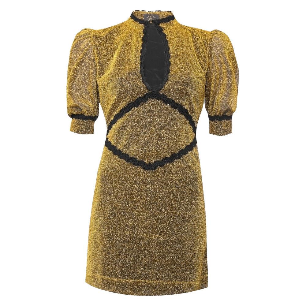 Jazzy Dress - Gold