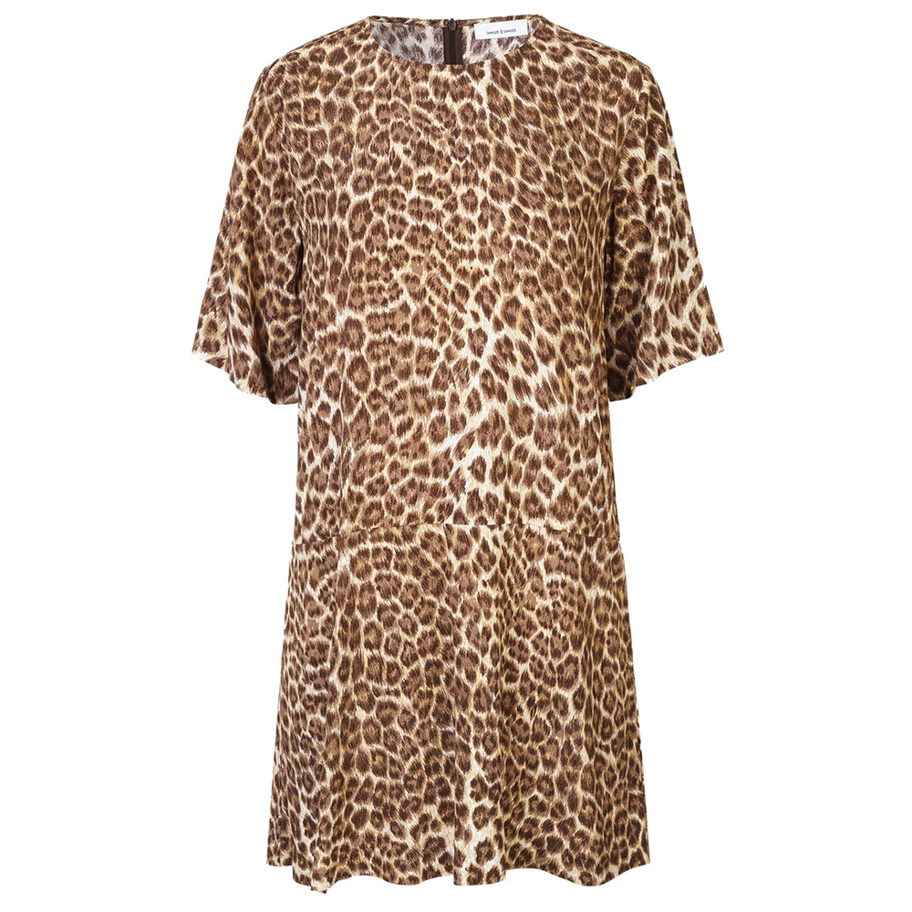 Adelaide Dress - Leopard