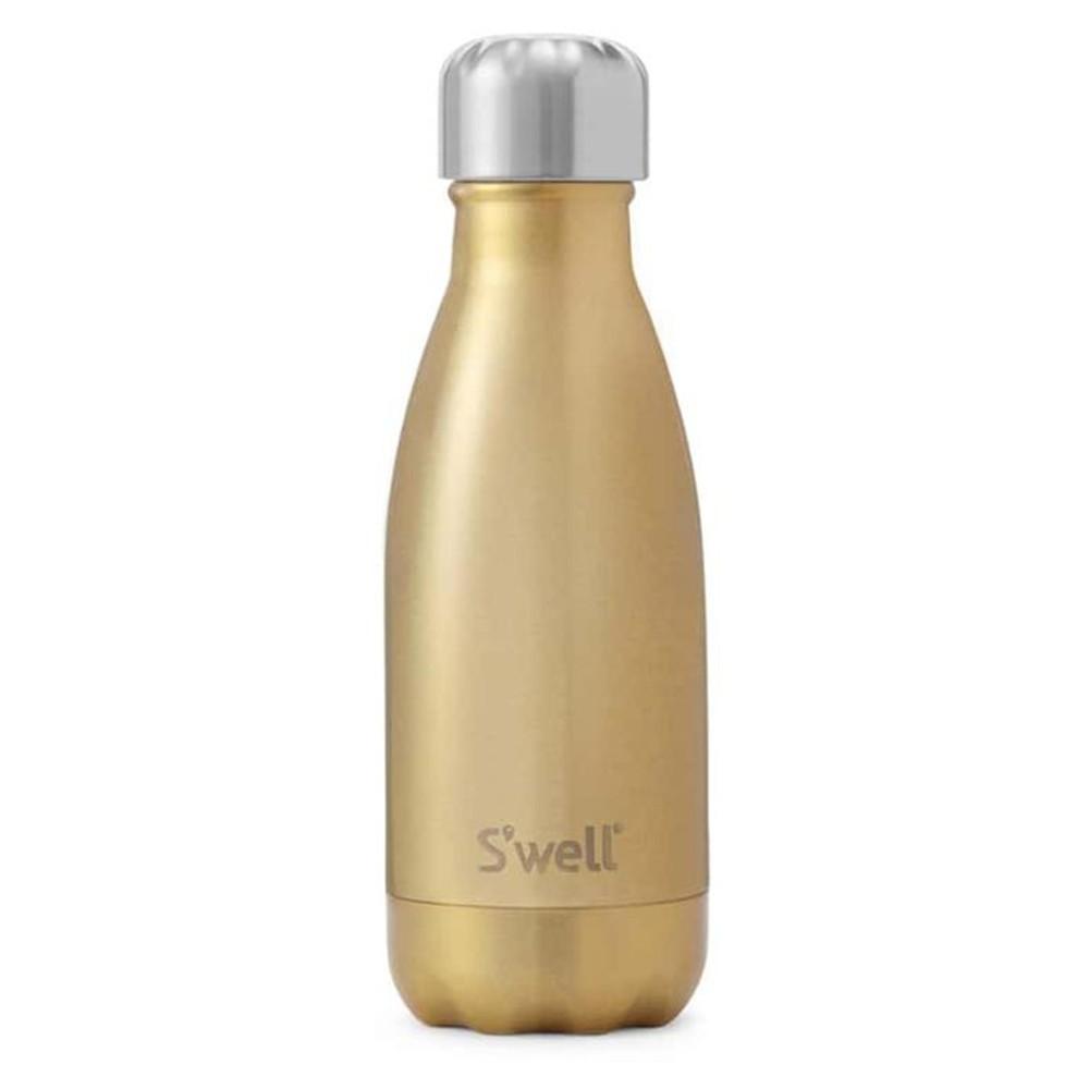 The Glitter 9oz Water Bottle - Sparkling Champagne