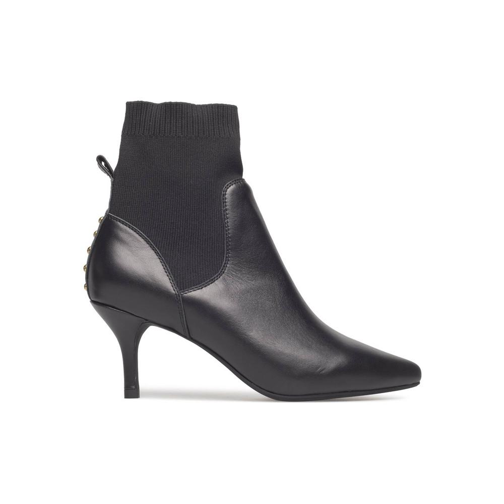 Agnete Knit Boot - Black