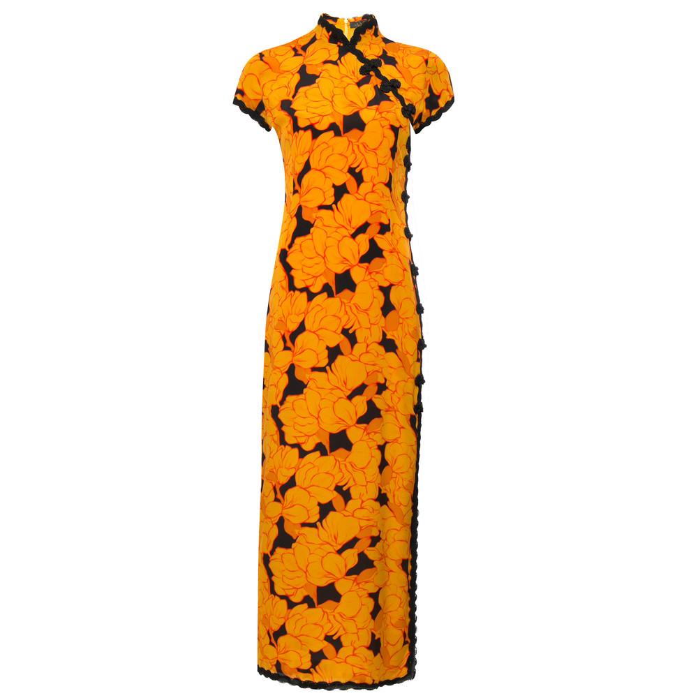 Suki Long Dress - Magnolia