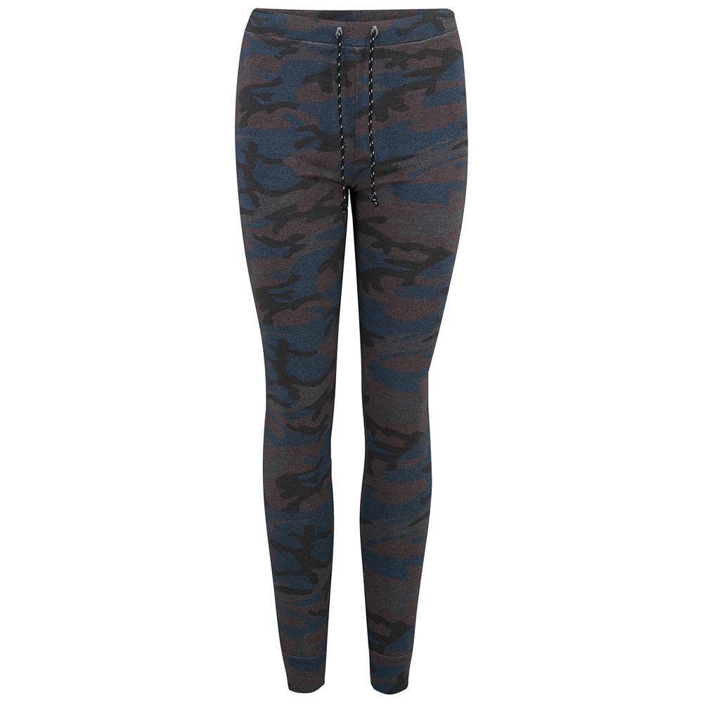 Skinny Camo Sweatpants - Charcoal