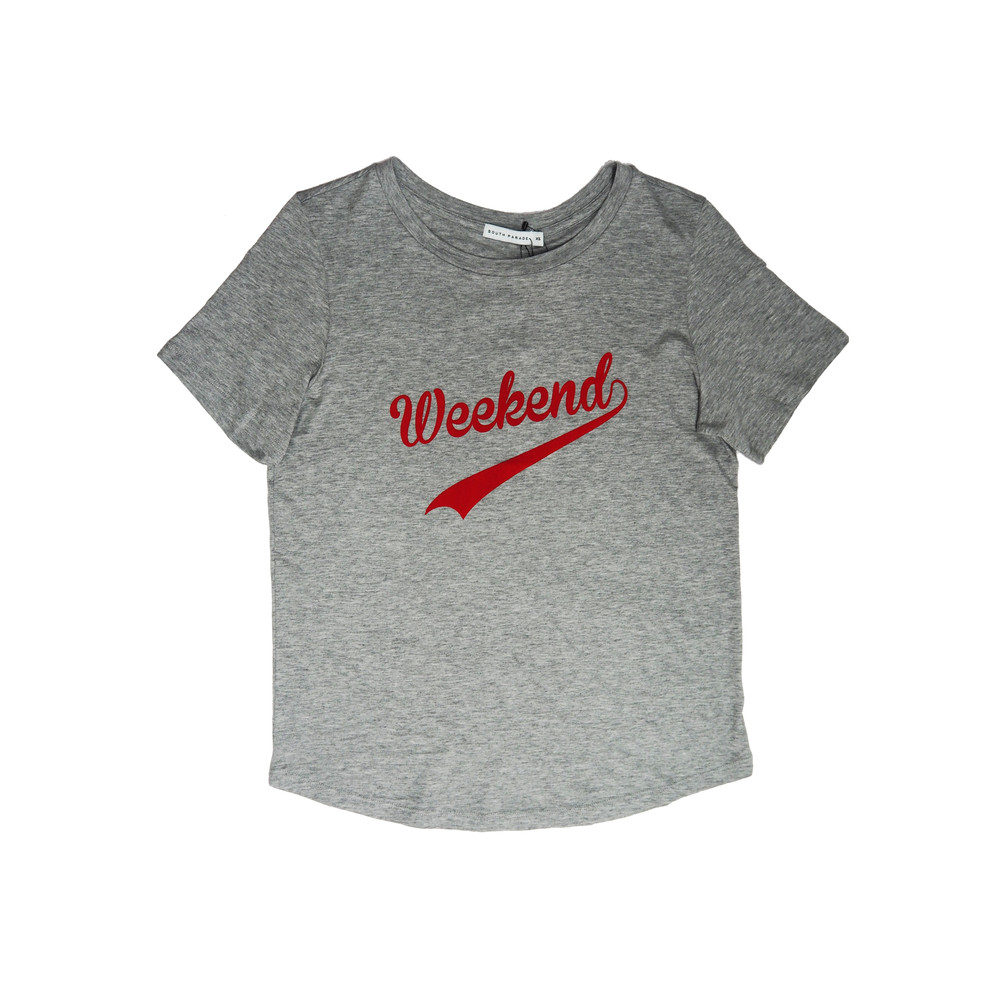Lola Weekend T-Shirt - Heather Grey