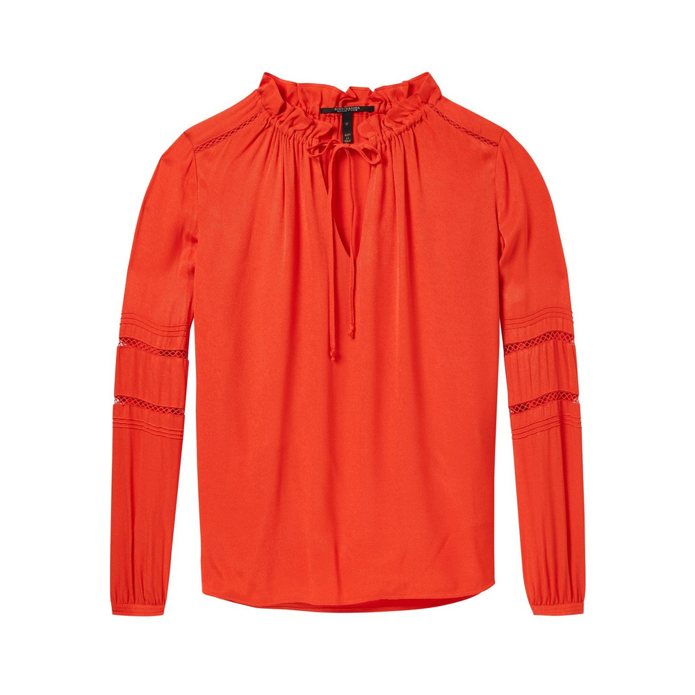 Tunic Top - Poppy Red