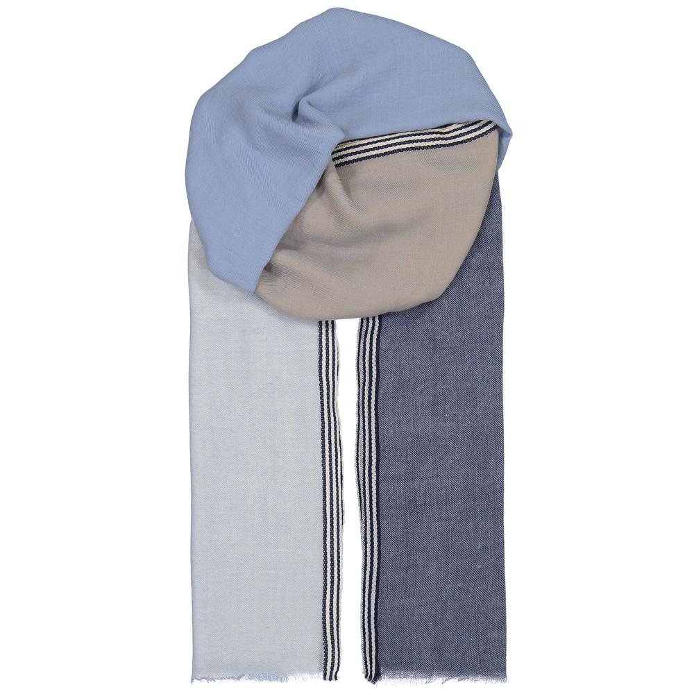 Zula Wool Scarf - Dusty Blue