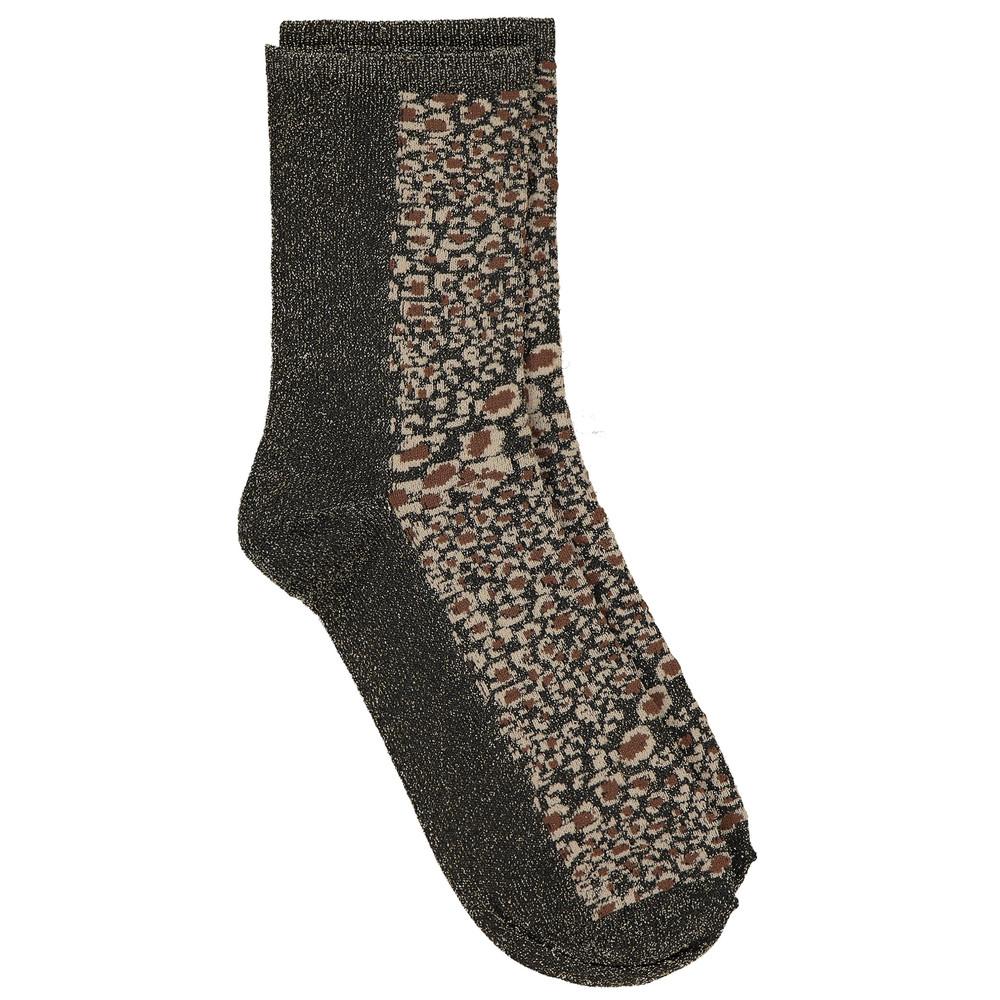 Dagmar Leo Socks - Soft Beige