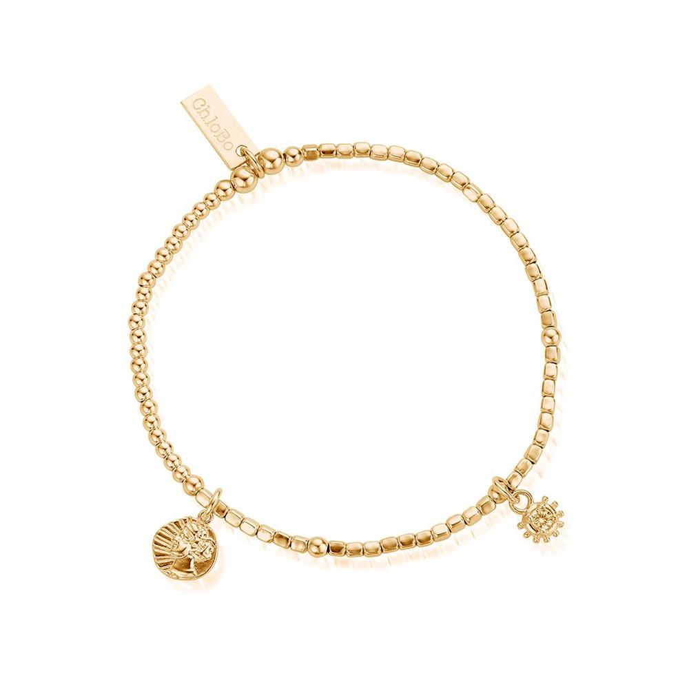 Ariella Venetian Goddess Bracelet - Gold