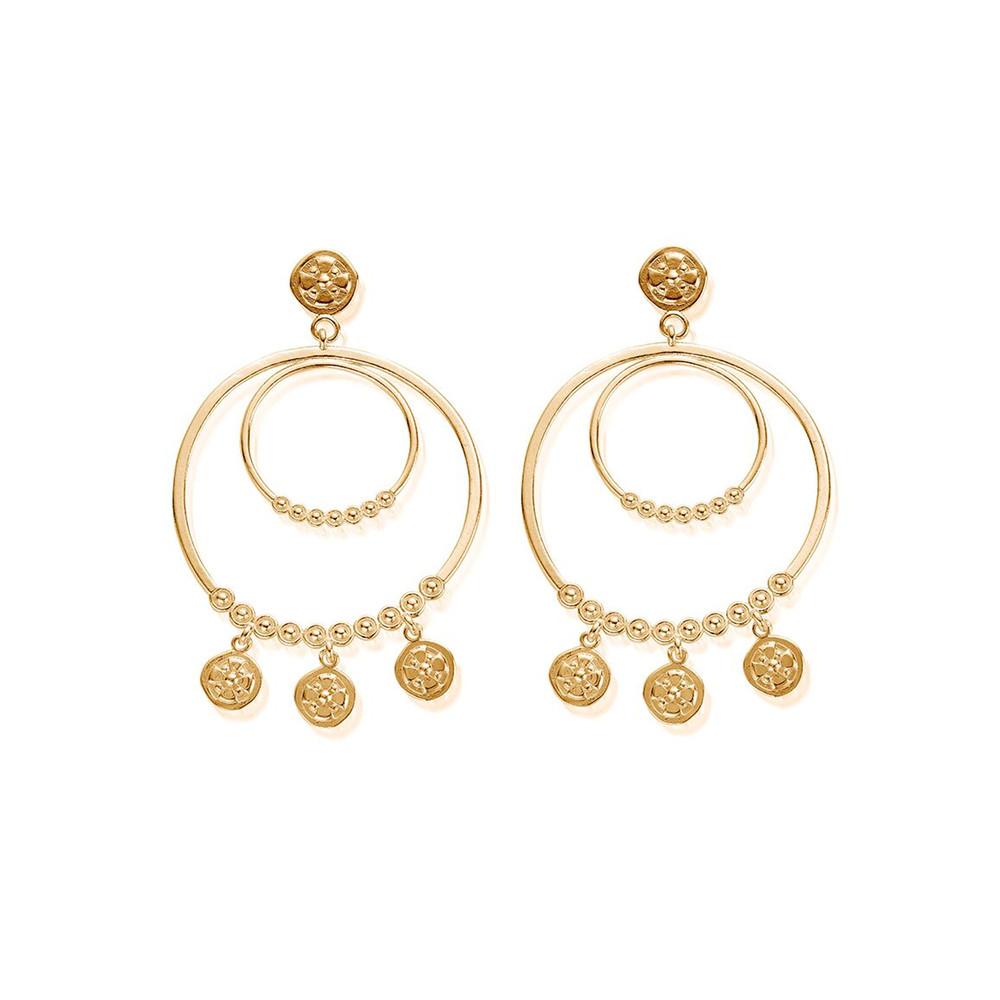 Ariella Heavenly Hoops - Gold