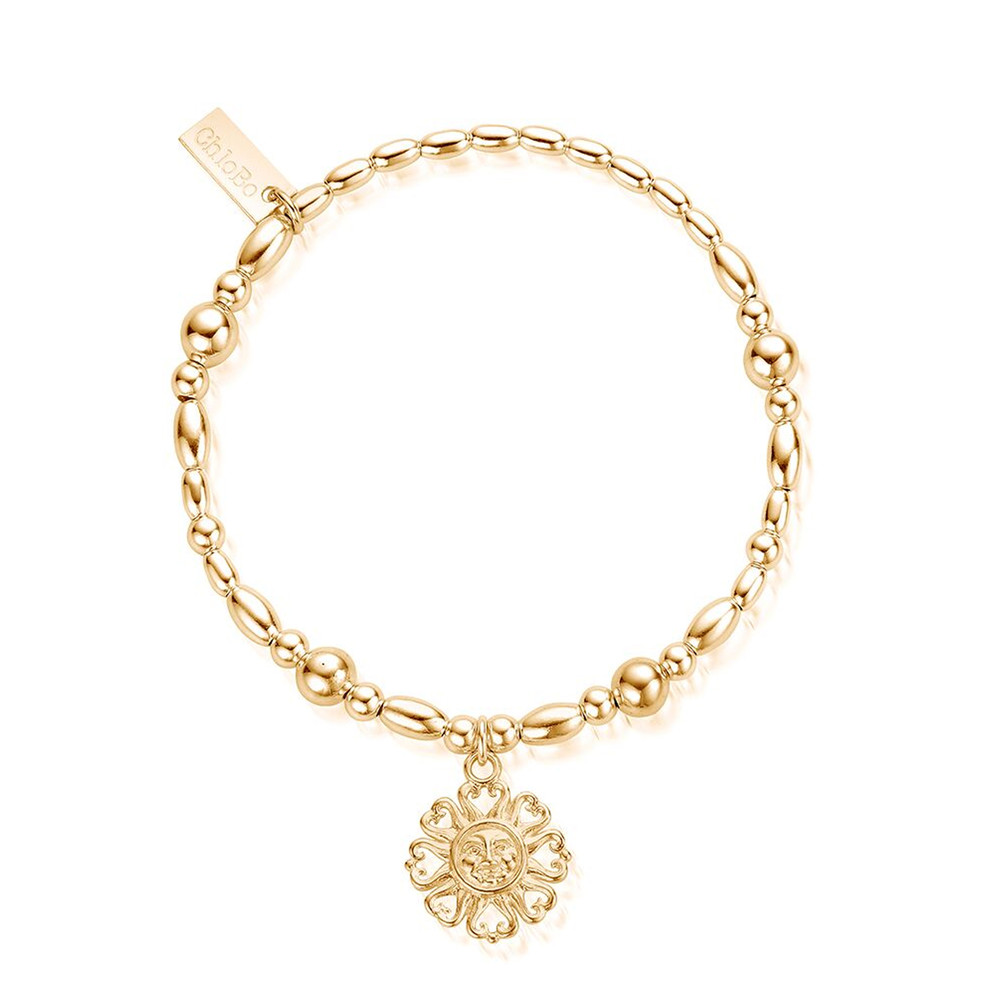 Ariella Bright Love Bracelet - Gold