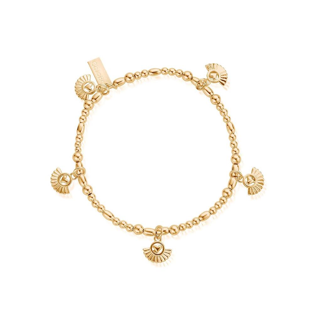 Ariella Real Love Bracelet - Gold
