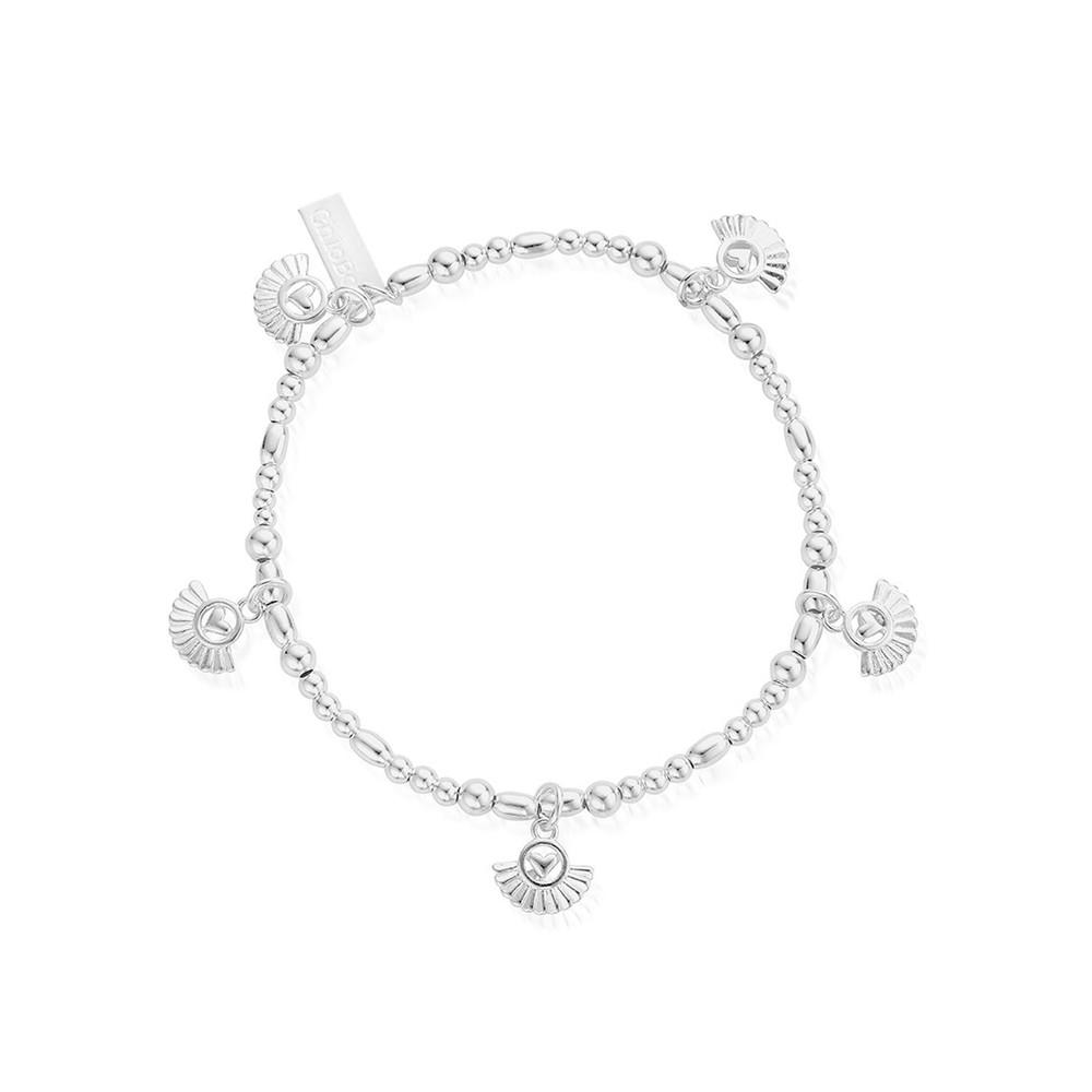 Ariella Real Love Bracelet - Silver