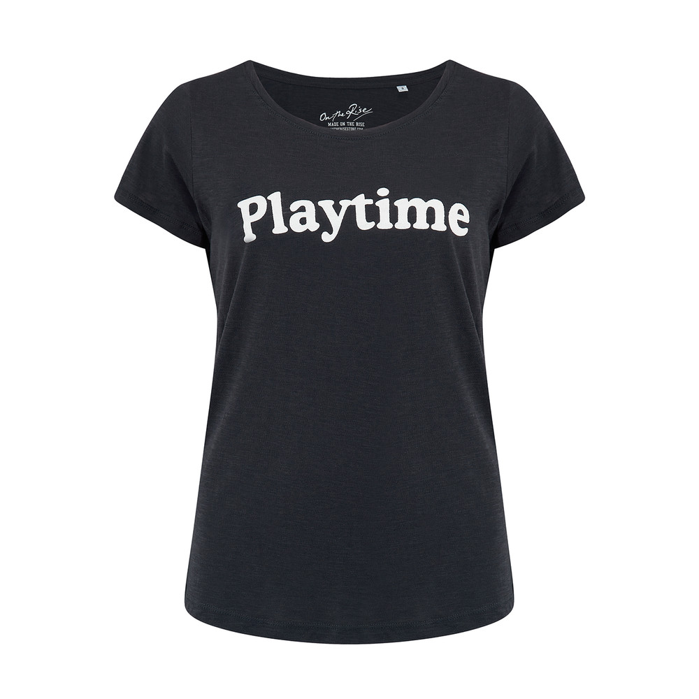Playtime Tee - Black & White