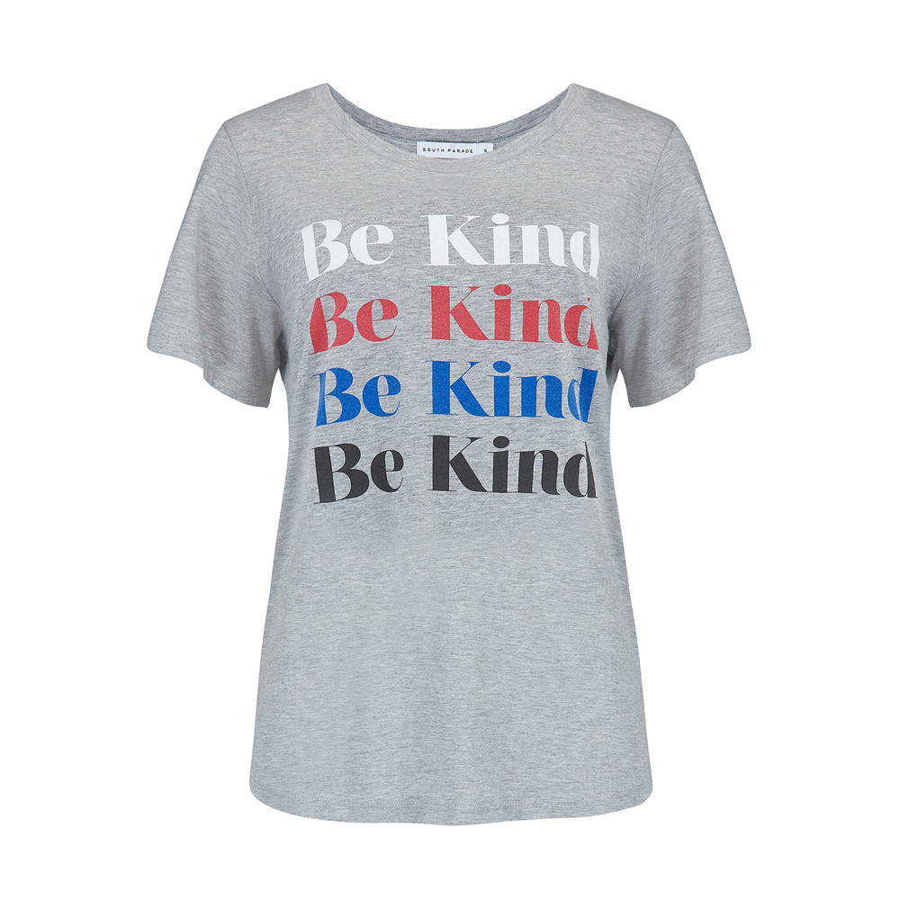 Lola Be Kind T-Shirt - Heather Grey