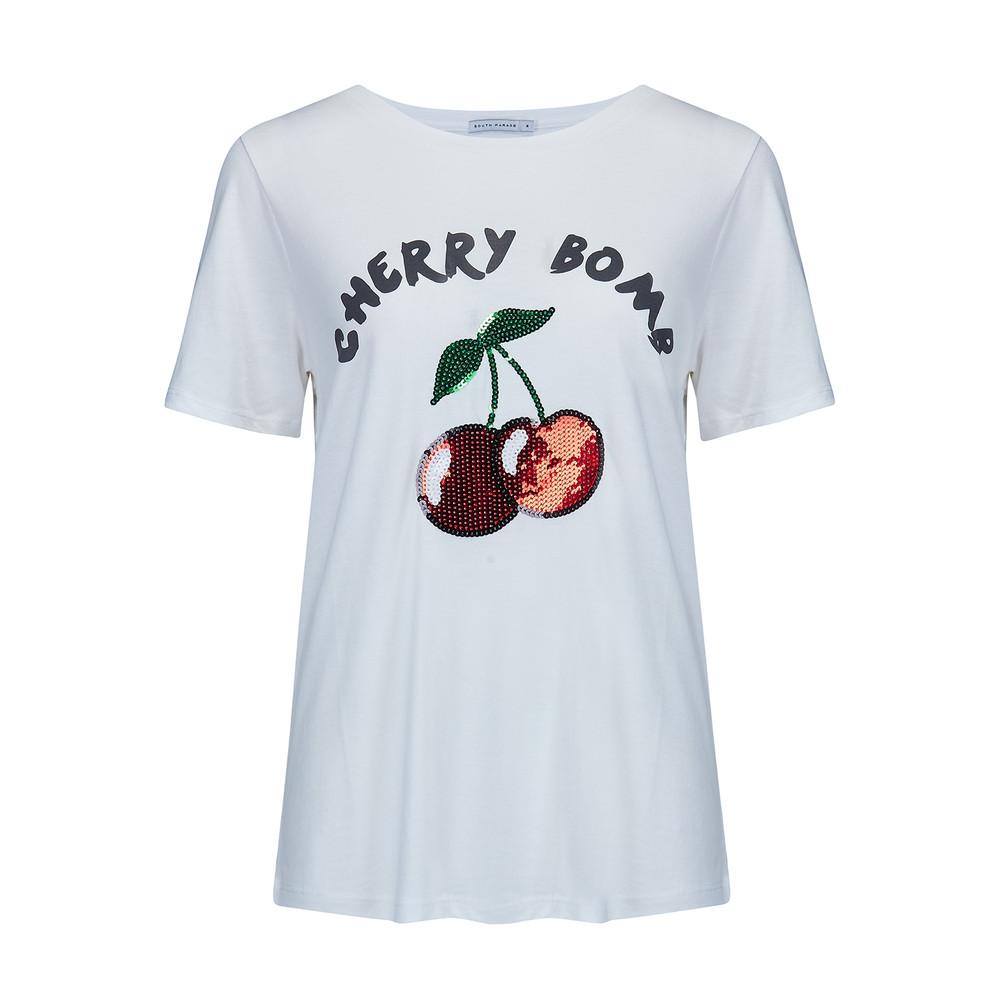 Lola Cherry Bomb T-Shirt - White