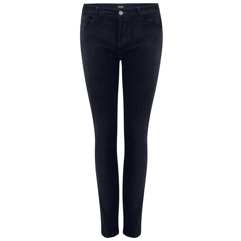 Verdugo Ultra Skinny Velvet Jeans - Midnight Slate