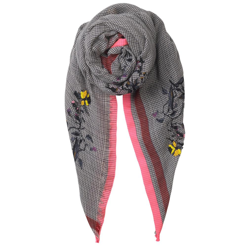 Barbora Wool Scarf - Neon Pink